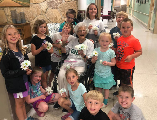'Grandma Jeannie' Brings Greetings to Kids